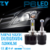 2pcs Car Styling LED Headlight 5202 9012 D1S D2S D3S D4S H15 6000K LED 110W 10400Lm