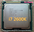 Intel Core i7 2600K 8M/3.4G/95W  Quad Core Processor  5GT/s SR00C LGA 1155 SOCKET i7-2600K  (working 100% Free Shipping)