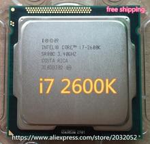 Intel Core i7 2600 Karat 8 Mt/3,4G/95 Watt Quad-core-prozessor 5GT/s SR00C LGA 1155 BUCHSE i7-2600K (arbeiten 100% Freies Verschiffen)