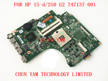 Original 747137-501 Laptop Motherboard for HP 15-D 250 G2 747137-001 Notebook Mainboard 90Days Warranty
