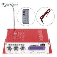 12V 2CH HI FI Digital Car Power Amplifier FM Radio Stereo Audio Music Player Support SD