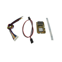 купить 5 IN 1 PCI-E, PCI, LPC, I2C, ELPC diagnostic post tester card For Laptop Motherboard Guaranteed 100% дешево