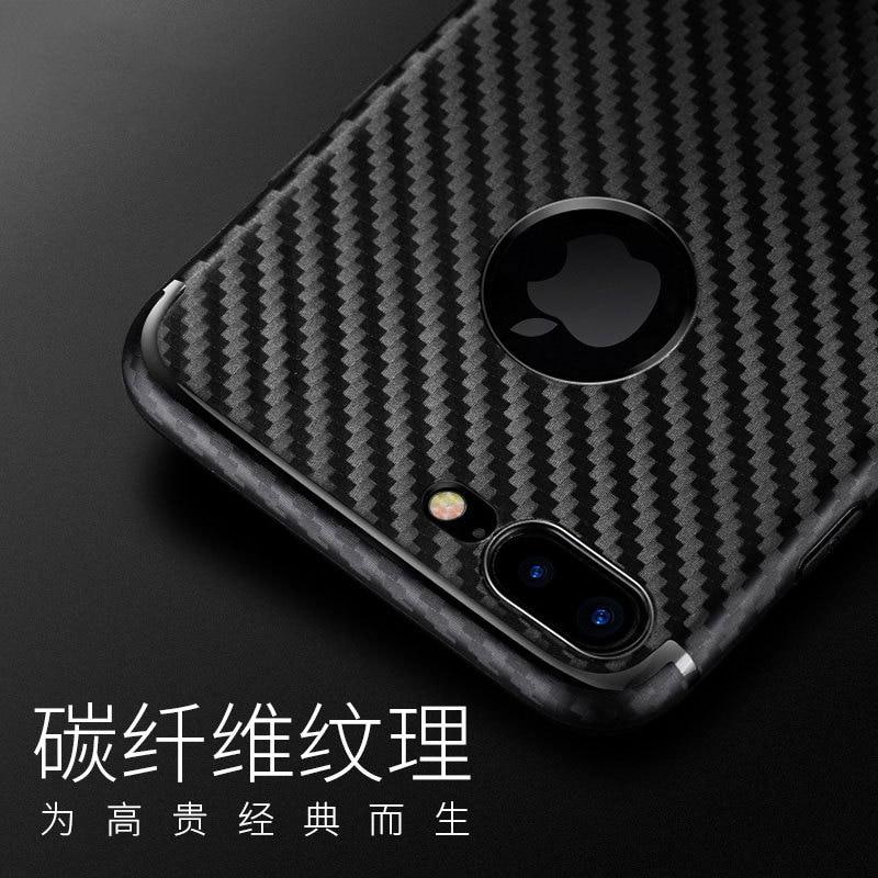 Untuk IPhone7 7 ditambah kasus shell ponsel pola serat karbon - Aksesori dan suku cadang ponsel - Foto 2