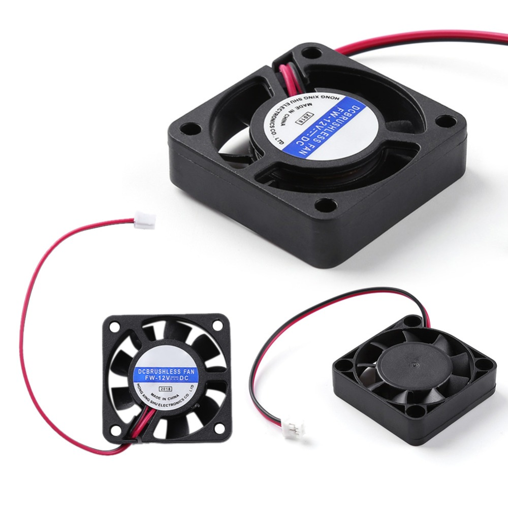Chassis Brushless CPU Cooler 4cm Case Silent 2 Pin DC 12V Cooling Computer Fan