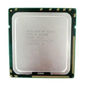 Процессор Intel Xeon X5680, шесть ядер, LGA 1366, серверный процессор, 100% рабочий процессор для ПК, КОМПЬЮТЕРНЫЙ СЕРВЕР