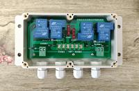 Dual Axis Solar Tracking Controller Intermediate Relay Module Intermediate Relay Control Panel High Current