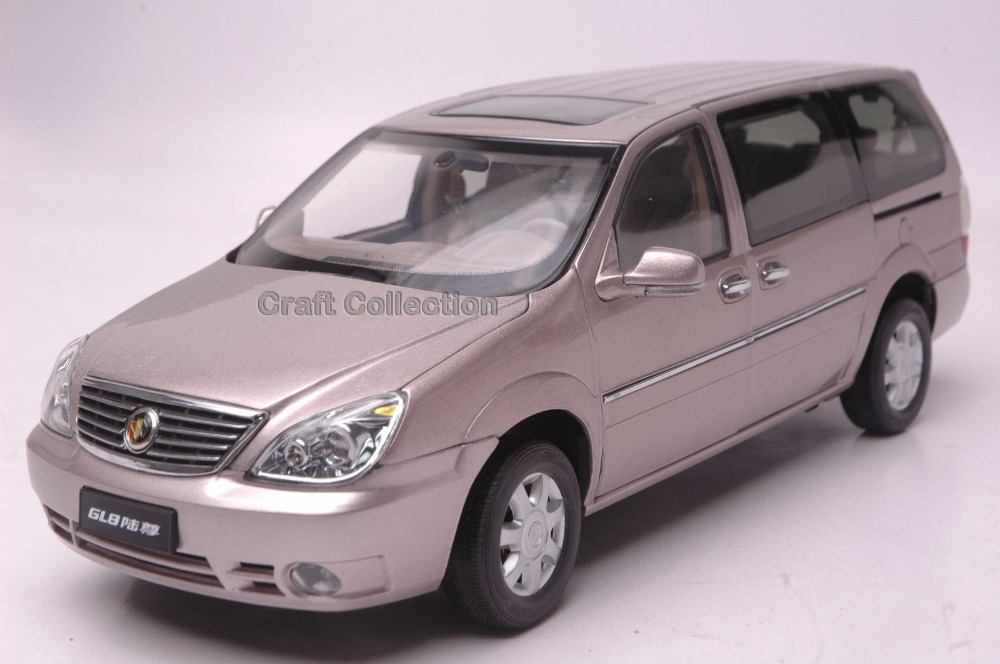 ФОТО 1/18 Buick GL8 MPV Diecast Model Van Luxury Gifts Miniature Automobile Commercial Business Class Coach