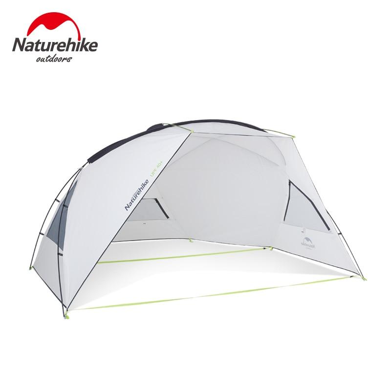 Naturehike Camping Awning Tent Sun UV Protection Sun Shelter Canopy Outdoor Rainproof Sunshade Beach Tarp UPF40