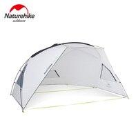 Naturehike Camping Awning Tent Sun UV Protection Sun Shelter Canopy Outdoor Rainproof Sunshade Beach Tarp UPF40+ NH18Z001 P