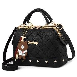 Модные новые стильные женские сумки 2020 PU кожаная сумка-мессенджер, одноплечевая Наклонная Сумка-тоут FC-96