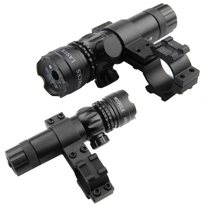 """Adjustable Green Laser Sight with 3 """"Remote & Mount Pressure Switch"""