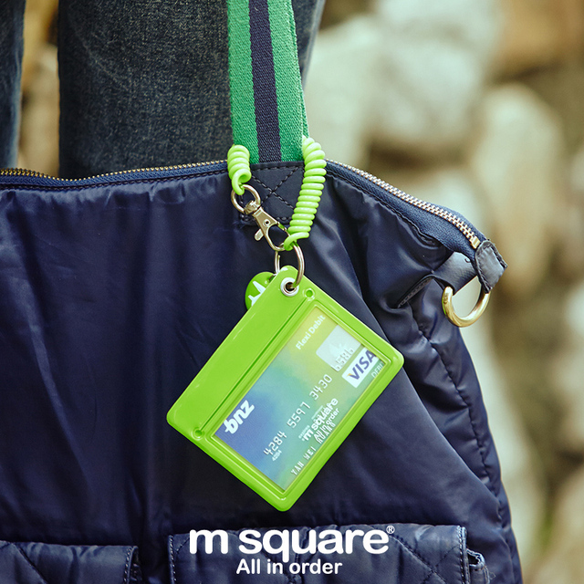 M Square Travel Credit Card Holder / Wallet