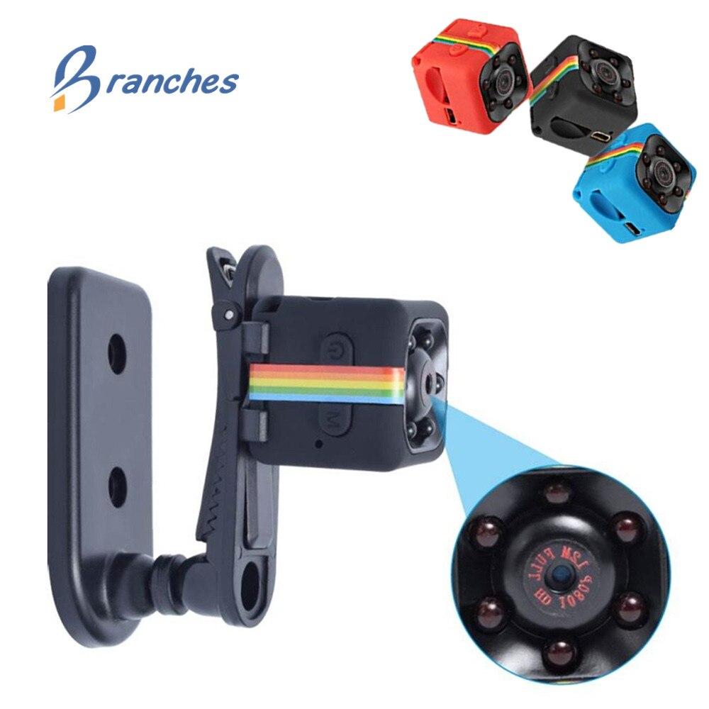 Mini Caméra SQ11 1080 P Sport DV Mini Infrarouge de Vision Nocturne Moniteur caché Caméra De Voiture DV Vidéo Numérique Enregistreur PK SQ12 SQ 11