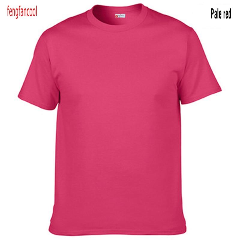 Fengfancool Marke 100% Baumwolle Männer leer T-Shirt, hochwertige - Herrenbekleidung - Foto 3