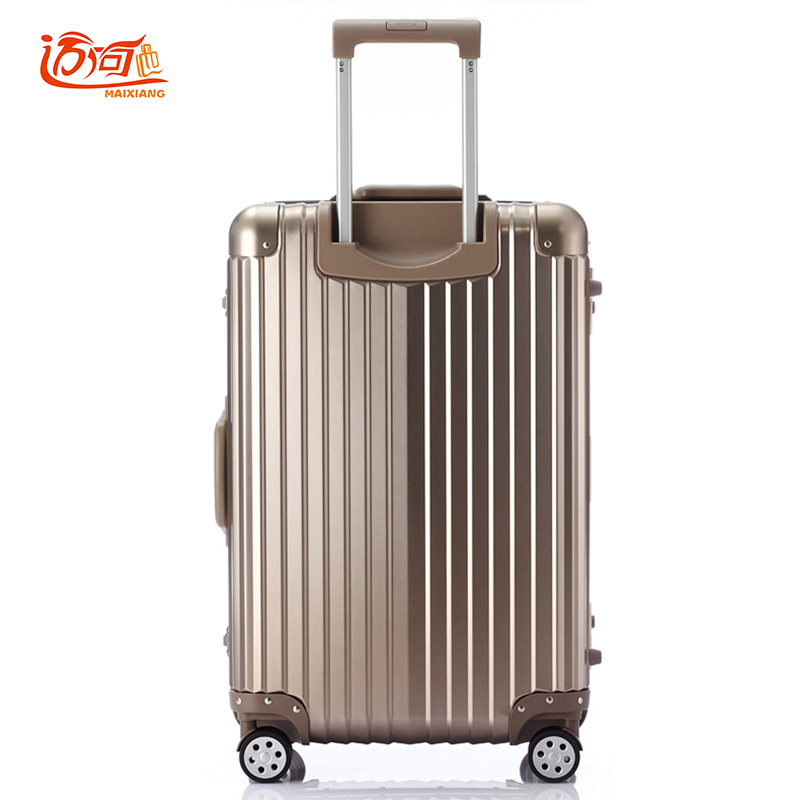 Aluminum frame+PC+ABS trolley travel luggage rolling luggage, 20242629inch suitcases and wheels vintage suitcase luggage