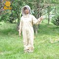 Top Quality Protective Beekeeping Jacket Veil Suit Smock Beekeeping Equipment Beekeeper Suit Bee Suit FREE SHIPPING