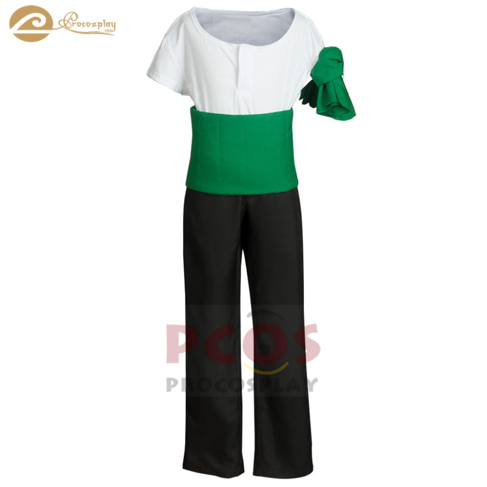 Procosplay WANTED Roronoa Zolo Cosplay costume Pirate Hunter Zolo cosplay outfit one piece cosplay costume for kid mp004113