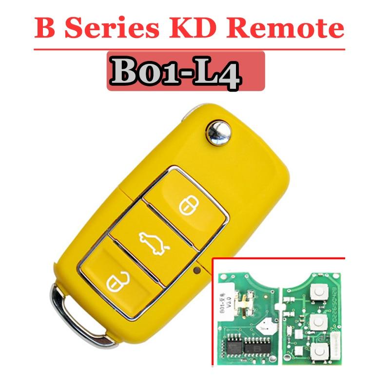 Free shipping (1 piece)Keydiy B01L-04 Luxury kd900 remote 3 Button Remote Key with Yellow colour for URG200/KD900/KD200 free shipping 5pcs lot b01 3 button kd900 remote key b series for keydiy programmer urg200 kd900 kd200