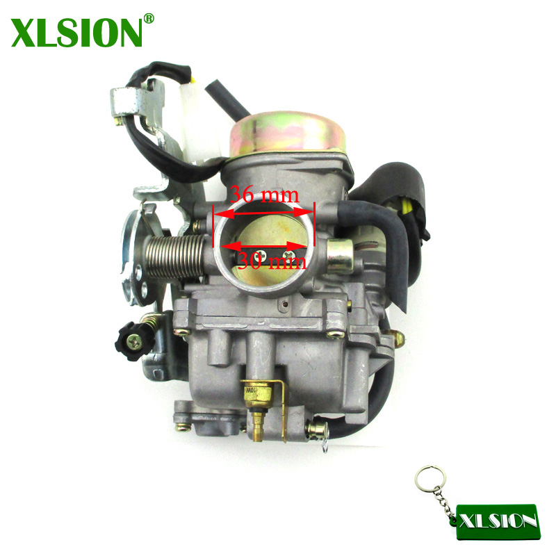 XLSION Carburetor For Manco Talon 260cc 300cc Carb LINHAI Bighorn 260 300 FS300 CVK ATV Dirt