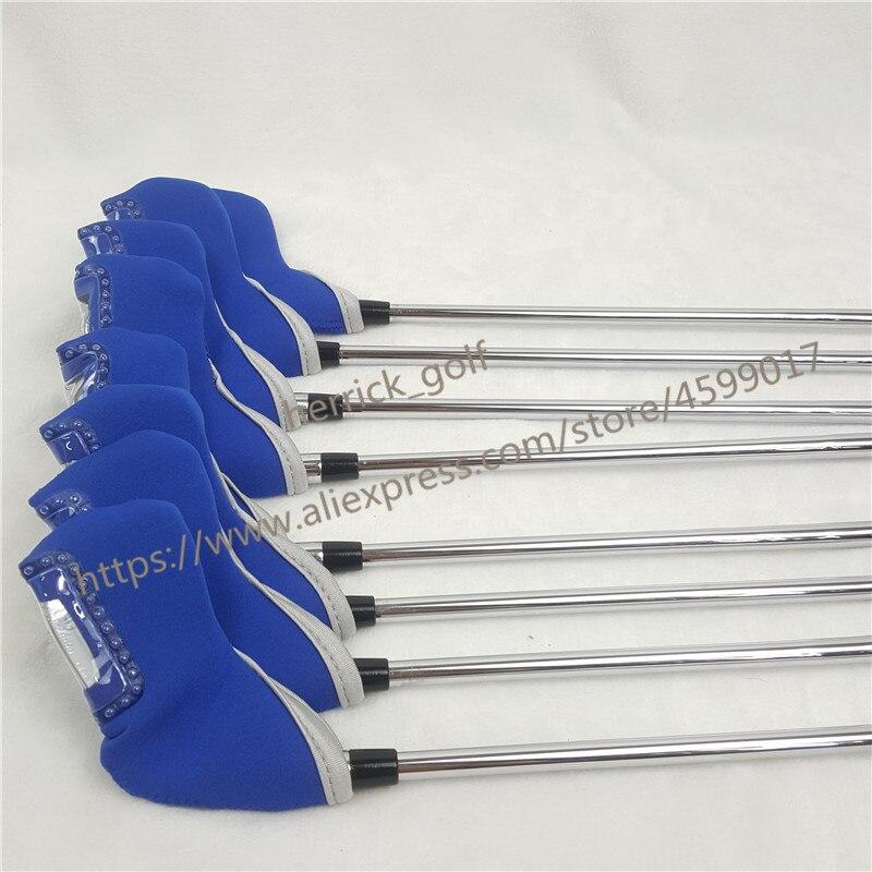 8 pièces golf fer JPX919 ensemble Golf forgé fers Clubs de Golf 4-9PG R/S Flex acier/Graphite arbre avec couvercle de tête