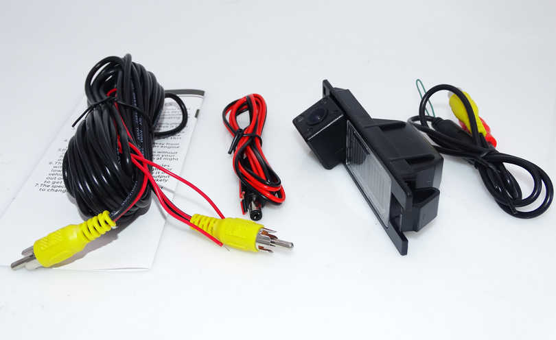 Caméra de recul pour véhicule caméra de recul pour OPEL Astra H/Zafira B, FIAT pour Grande/Meriva A//Vectra C//Corsa D