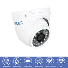 Outdoor IP66 Waterproof HD-720P Surveillance CCTV Security Wireless Camera  Onvif Dome P2P Network Night Vision Wifi IP Camera