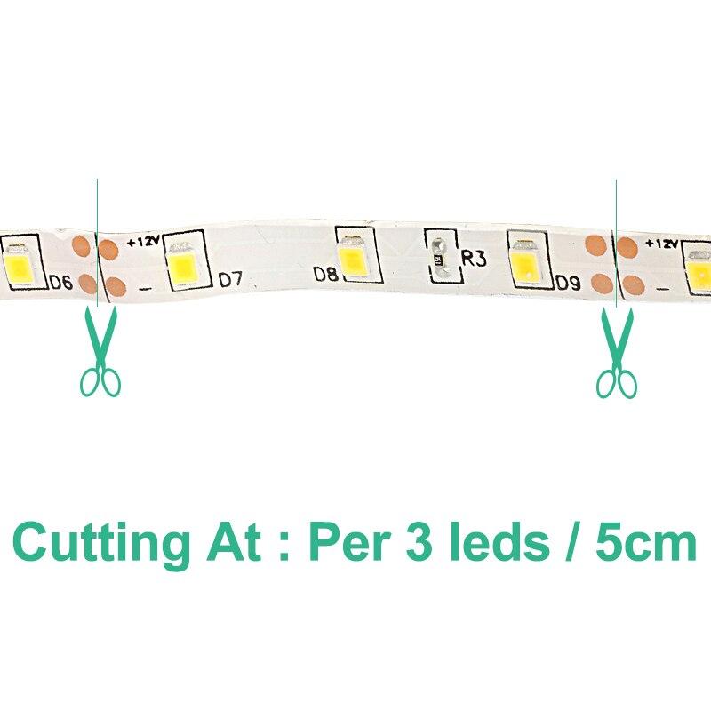 Tiras de Led da lâmpada de luz de Geração de Energia : Sempre Ligado
