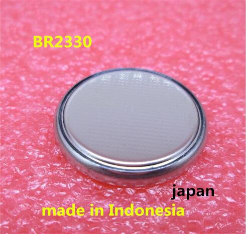 HOT NEW BR2330 2330 3V 255mah High temperature resistant button Li-ion lithium battery image