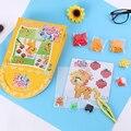 1 компл. Развивающие Игрушки Бороться Арахис Бобы Новый 5 мм Головоломки DIY Головоломки части Игрушки для Детей Творческий Детские Дети Забавная Игра Подарок