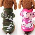 Fashion Pet Coat Dog Clothes Cute Pet Cotton Camouflage Warm Winter Hooded Clothing for Dogs Sweatshirt Jacket 15