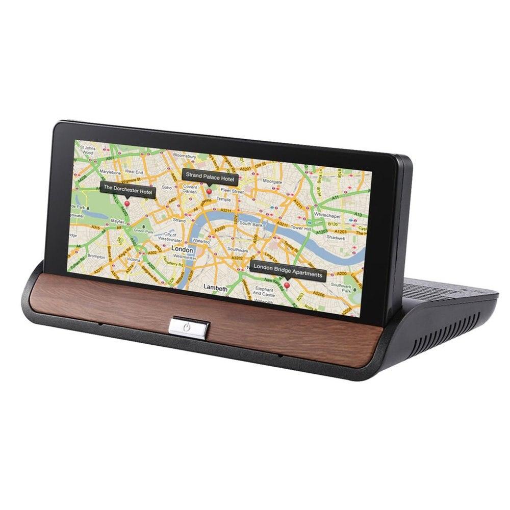 Full HD 1080 P voiture DVR GPS Navigation caméra tableau de bord caméra 120 degrés enregistreur vidéo Bluetooth caméscope AU carte pour Android