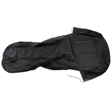 Waterproof Nylon Car Front Seat Cover Protector, Black Color
