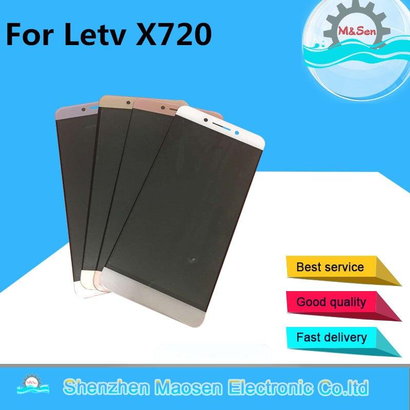 M & Sen Pour 5.5 Letv Leeco Le Pro 3 pro3 Elite X720 X725 X727 X722 LCD écran d'affichage + tactile digitizer noir câble avec des outils
