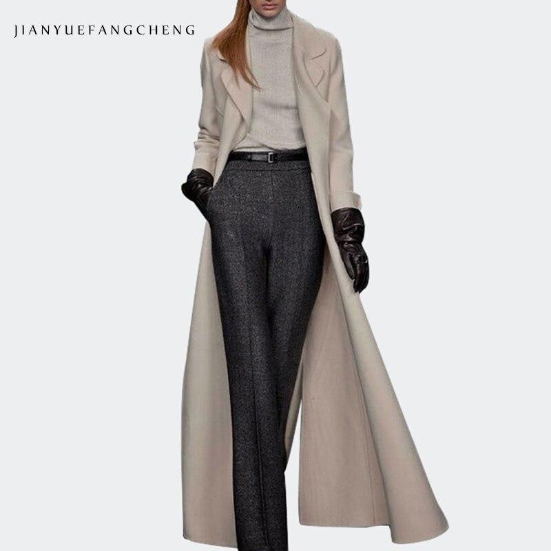 Zip Pantalones Anchos Ajustada 2018 Ancha Pantalon Tamaño Más Pierna Largo Invierno Cinturón Womens De Mujer Sueltos Alta Cintura Gray up 8xwqUE17x