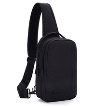 ФОТО chest package man leisure time single shoulder satchel male package small multi all-match function outdoors pocket waterproof