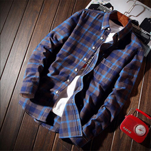 Mens Long Sleeve Shirt Fashion Men Business Hot Sale Popular Tops Size S M L-5XL Multi-color Selection Comfortable Clothing Good