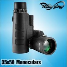 FYZLCION Professional Hunting 35x50 Monoculars Optical Telescope Monocular Hunting Travel Camp Optical Hunting