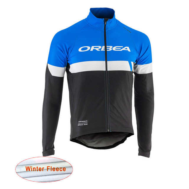 0e7c157b3 2018 ORBEA cycling jersey winter warm sweater MTB bicycle shirt long sleeve  jacket men s bicycle clothing