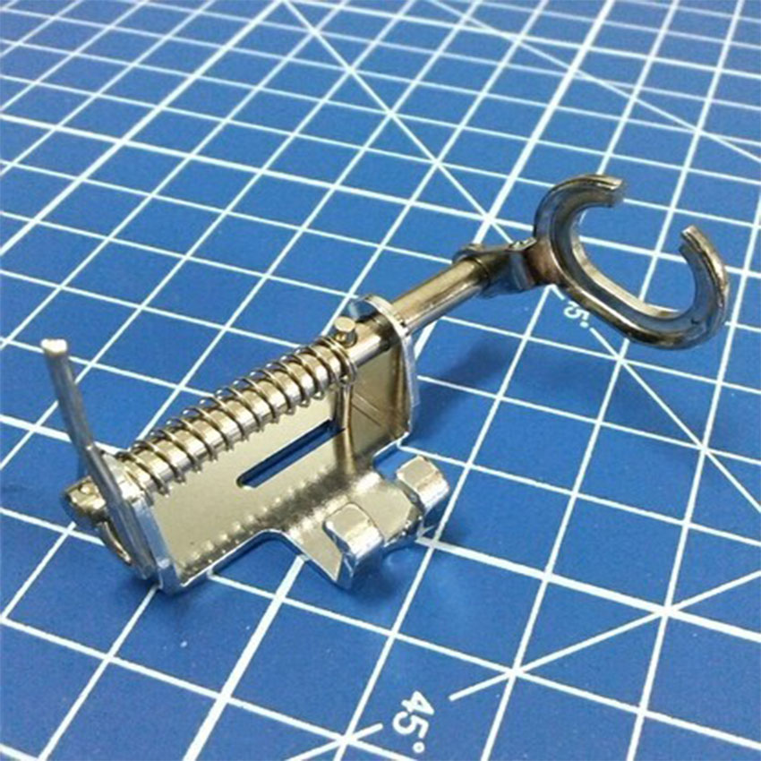 Household Sewing Machine Parts Open Toe Darning Foot High Shank Presser Foot 4021H-OT (P60437)