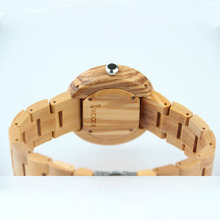 REDEAR Men Watches Top Brand Luxury Wood watch Quartz women clock