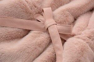 Image 3 - Chaqueta y abrigo de invierno para bebés y niñas ropa de invierno de piel sintética, abrigo cálido para bebés, ropa de abrigo para bebés