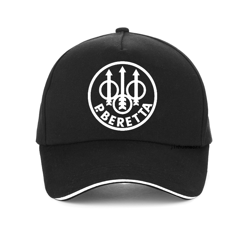 Military fan Beretta Gun logo   cap   100%Cotton Dad hat outdoor Tactics   Baseball     Caps   Fashion print Unisex Snapback hats bone