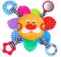 Candice guo! Super bonito venda quente brinquedos do bebê colorido em forma de sol multifuncional da preensão da mão boneca de brinquedo 1 pc