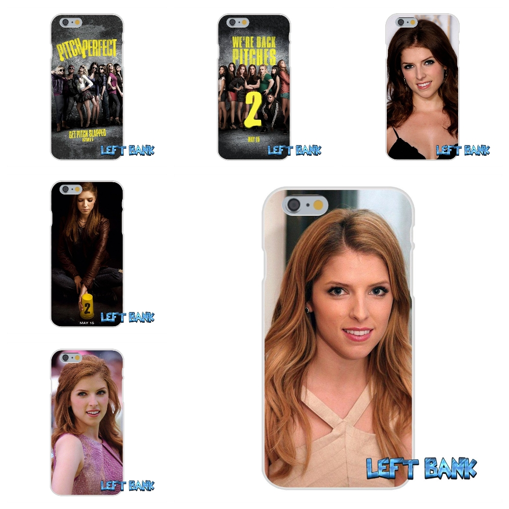 For iPhone 4 4S 5 5S 5C SE 6 6S 7 Plus Pitch Perfect 2 Beca and Fat Amy Soft Silicone TPU Transparent Cover Case