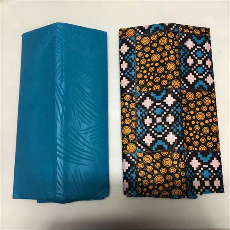 8ba4c6258e7 African Fashion style New Wax fabric for women party dress 4yards kente wax  fabric for ladies dress ~ Hot Deal June 2019