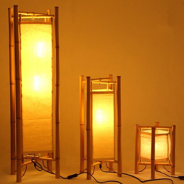 Aliexpress.com : Vintage Design Bambus Fußbodenlampe Japan Stil ...