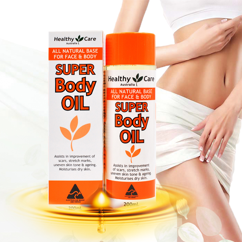 Australia Body Oil Skin Care Treatment Smooth Scars Stretch Marks Ageing Skin Dehydrated Skin Massage Oil Prevent Water Loss