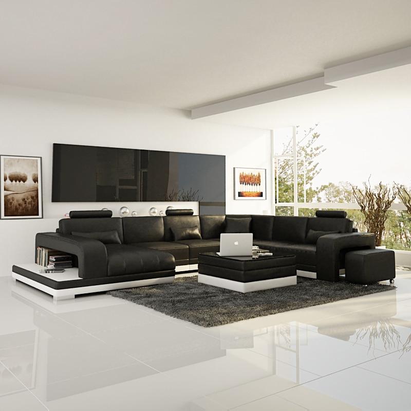 Modern Black Living Room Sofa