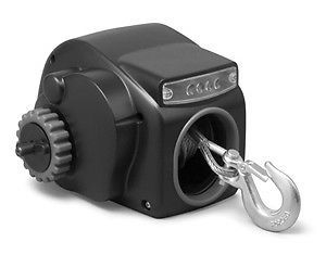 Marine Fresh Water Small Craft 12V Electric Trailer Winch with cable For Boat Up to 22ft 7000LBS