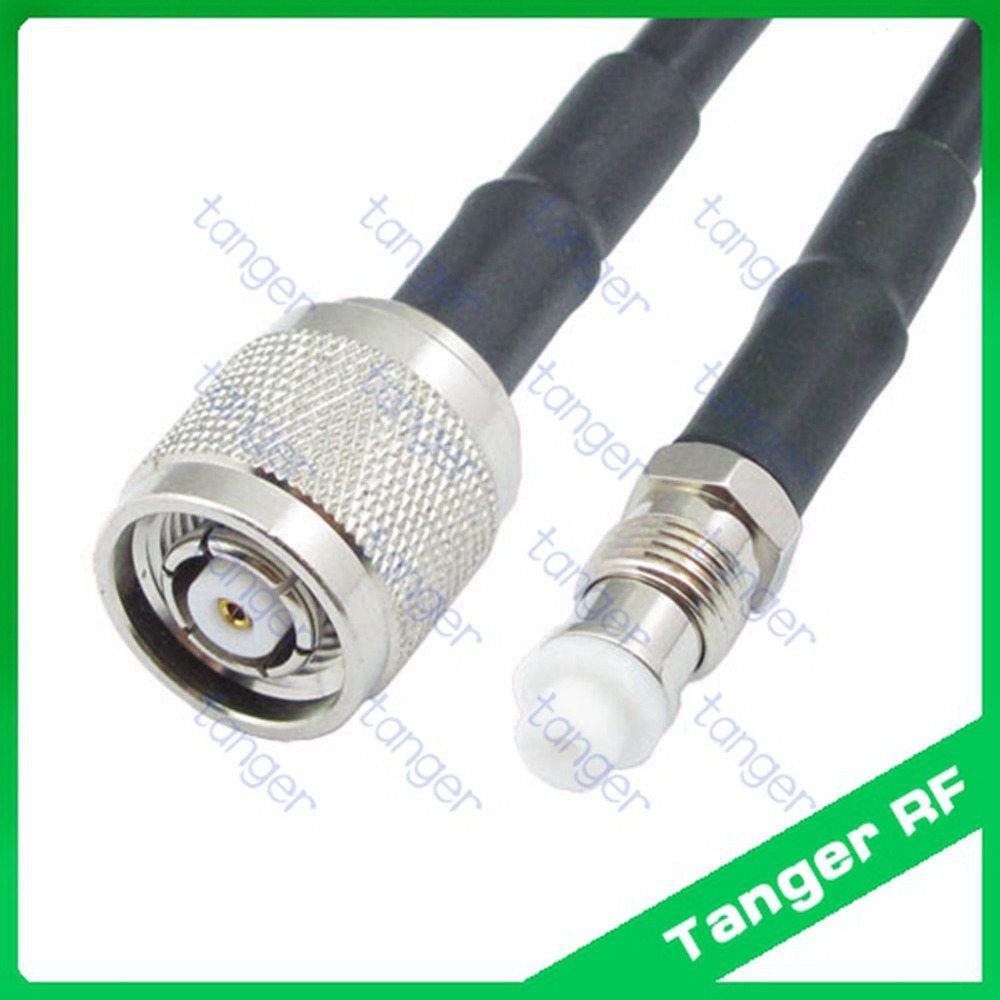Hot Selling Fme Female Jack To Rp Tnc Male Connector Straight Rf Trunk Wire Wiring Harness Mercedes R230 Sl500 Sl55 2003 03 2004 04 Rg58 Pigtail Jumper Coaxial Cable 3feet 100cm High Quality